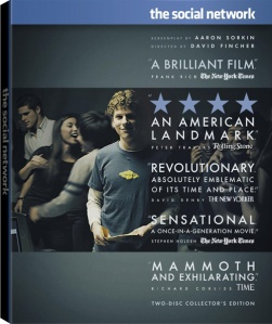 The Box Art for The Social Network